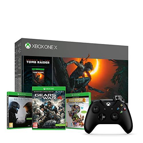 Xbox One X 1TB+ 4 juegos + 2 Mandos