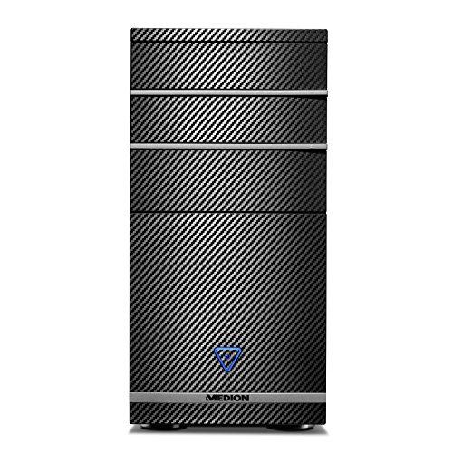 Medion M11 - Ordenador de sobremesa (Intel Core i5, 8GB de RAM, 1TB de HDD, nVidia GeForce GTX750 - 2 GB de RAM DDR5, Windows Home 10) negro, Teclado QWERTY español