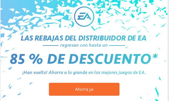 Rebajas EA 85%