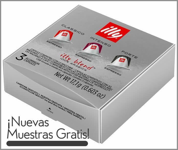 GRATIS Kit 3 cápsulas café compatibles Nespresso
