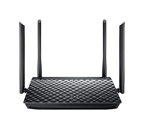 ASUS RT-AC1200G+ - Router inalámbrico AC1200 Doble Banda Gigabit