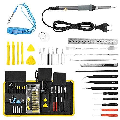 Kit de soldador y destornillador
