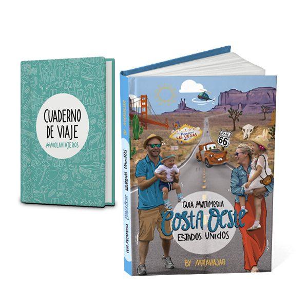 Libro Costa Oeste EEUU + Cuaderno viajero