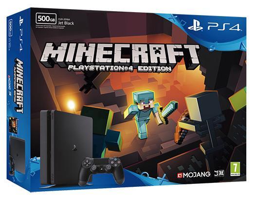 PS4 Slim de 500GB + Minecraft