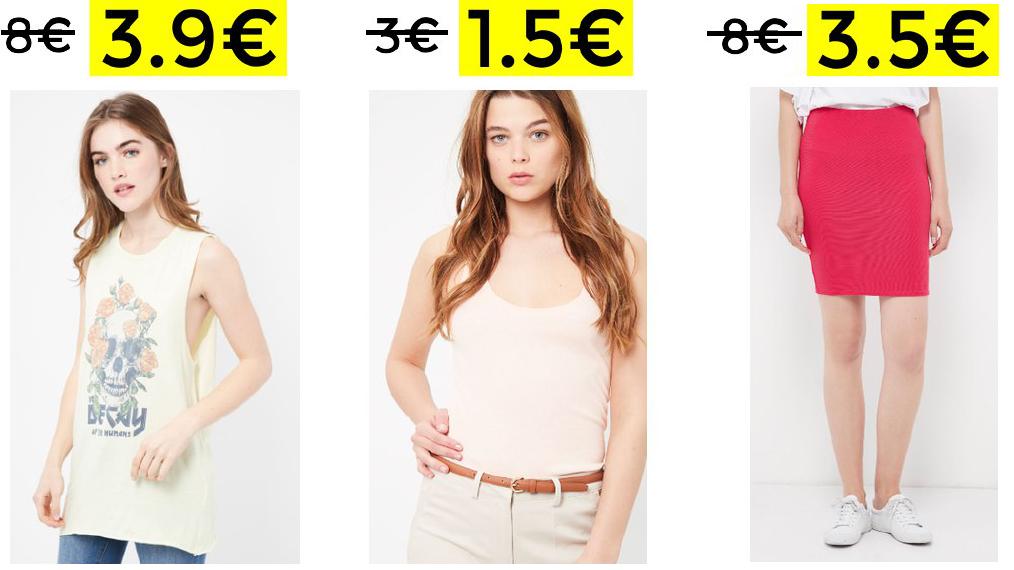 Hasta 60% de descuento en Lefties + 10€ EXTRA