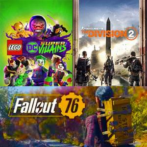 [XBOX] Juega Gratis LEGO DC Súper-Villanos, Tom Clancy's The Division 2 y Fallout 76