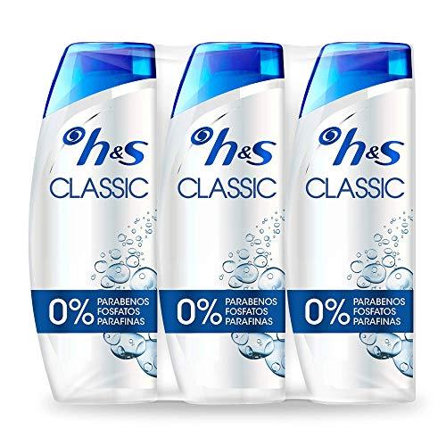 3x540ml de Champú H&S Classic (0,83€/ml)