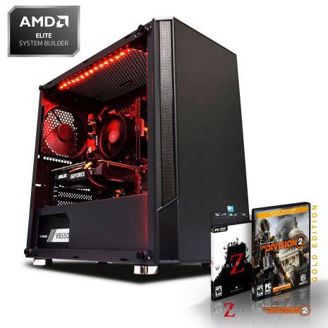 Ryzen 5 2600, RTX 2060 (6GB), 16GB de RAM 3000MHz , 240GB SSD + Juegos y Ratón Gratis