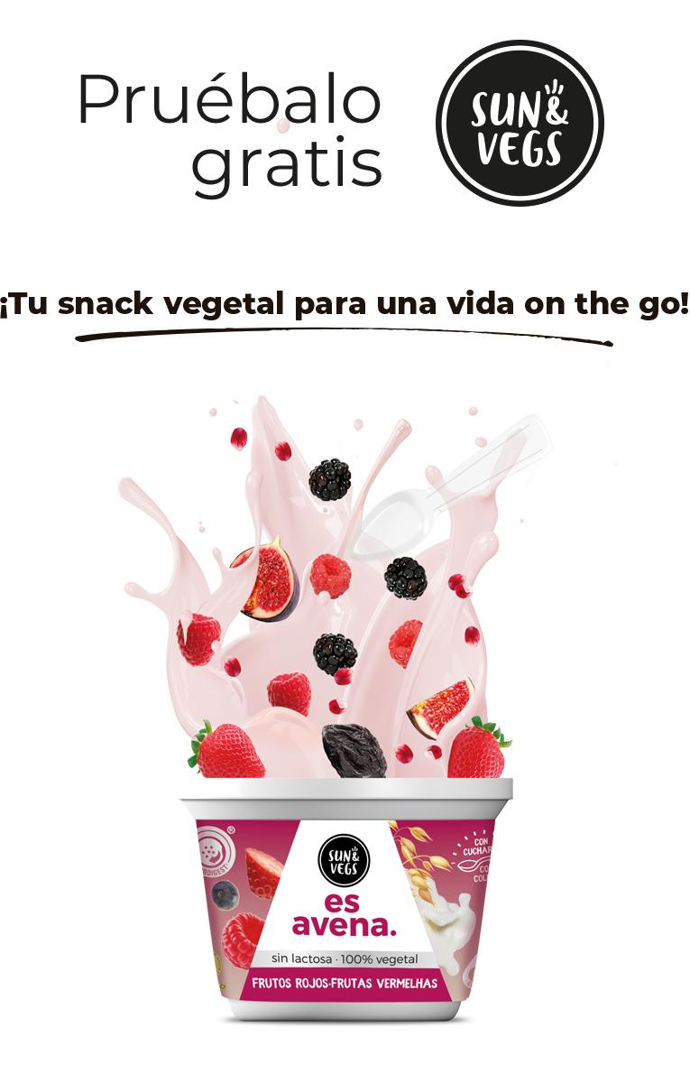 PRUEBA GRATIS Sun&Vegs®  Avena
