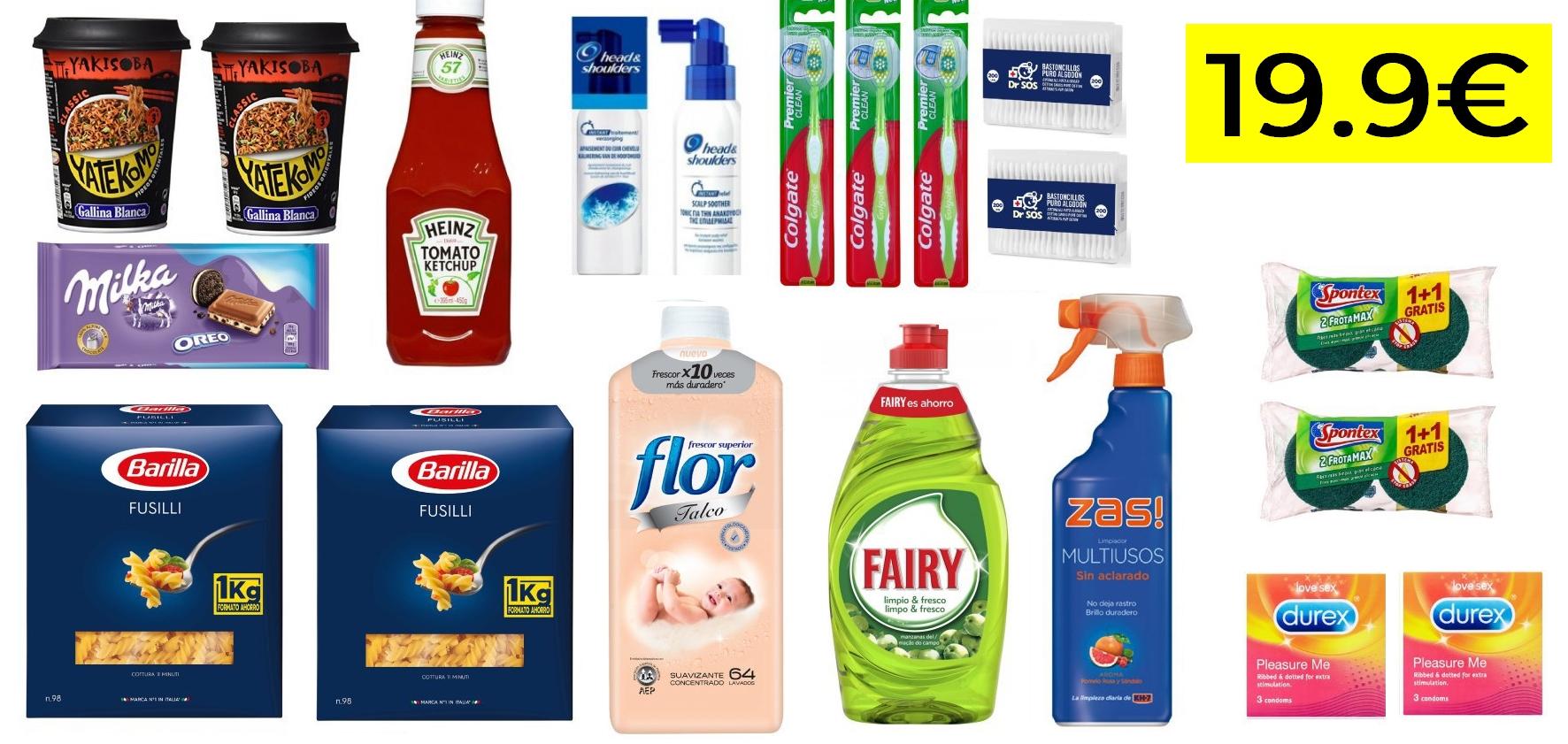20 productos de marcas top 19.9€