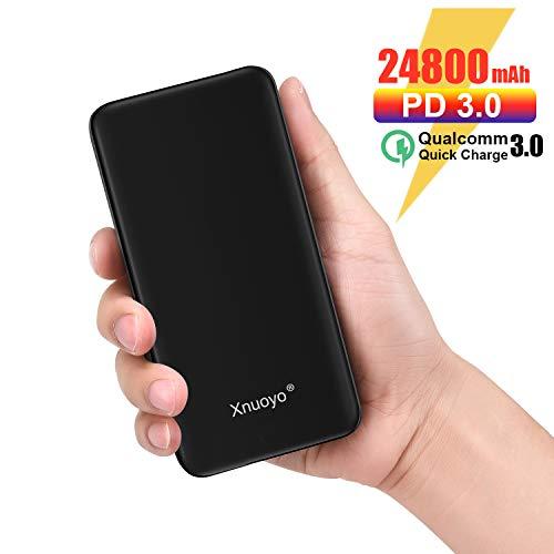 Batería Externa 24.800 mAh 18W USB-C QC 3.0 Carga rápida. Xnuoyo