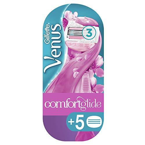 Venus ComfortGlide Spa Breeze Maquinilla + 5 Recambios