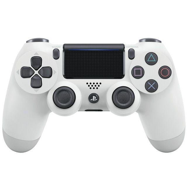 Mando inalámbrico Dualshock Blanco V2 PS4