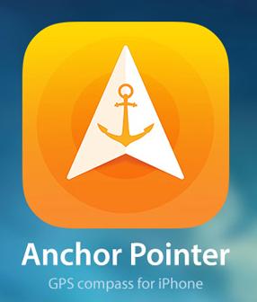 Anchor Pointer, Encuentra tu camino con la brújula (IOS)