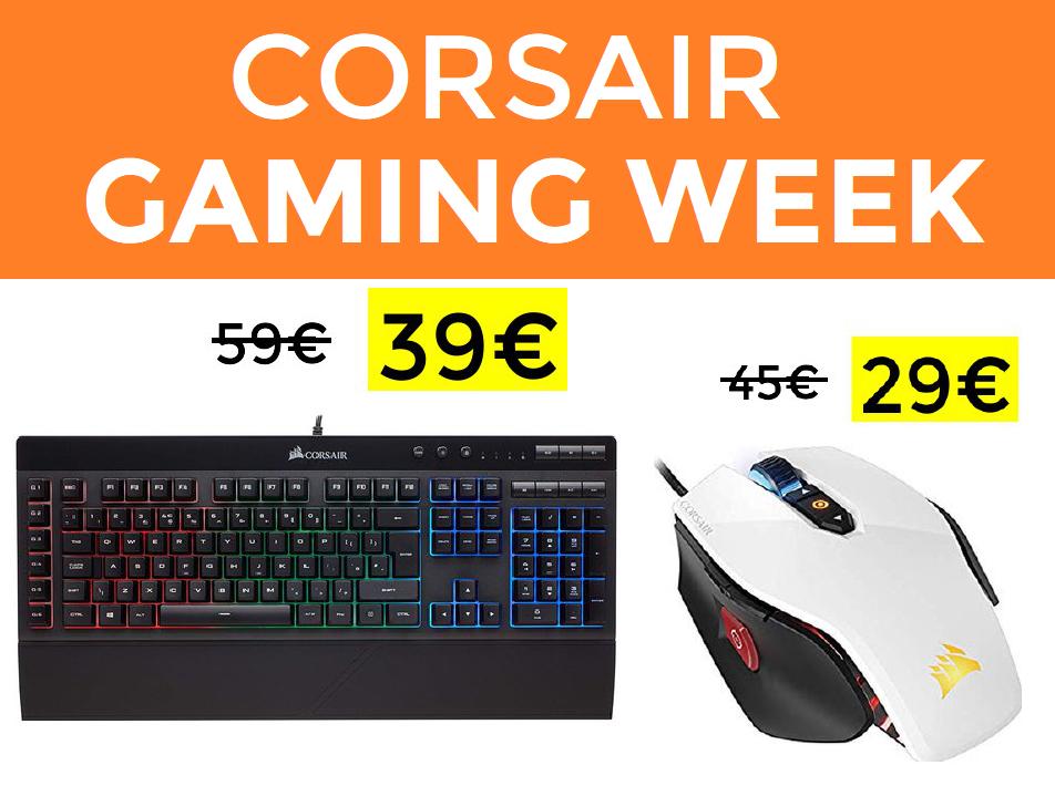 Ofertones en la Gaming Corsair Week