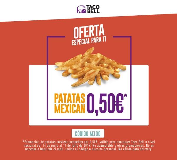 Patatas Mexican a 50 centimos - Taco Bell