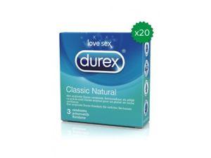 Durex Preservativos Regular (60 preservativos)