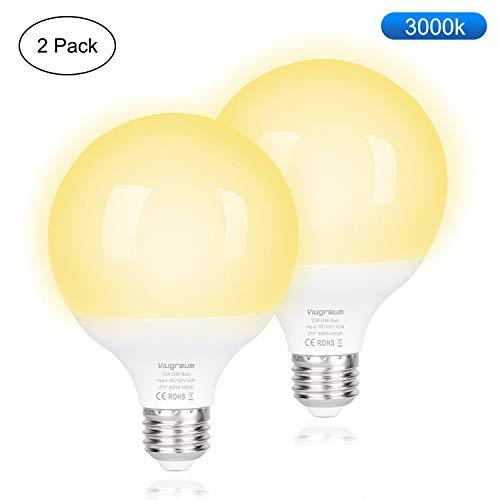 2 bombillas led 12w luz calida