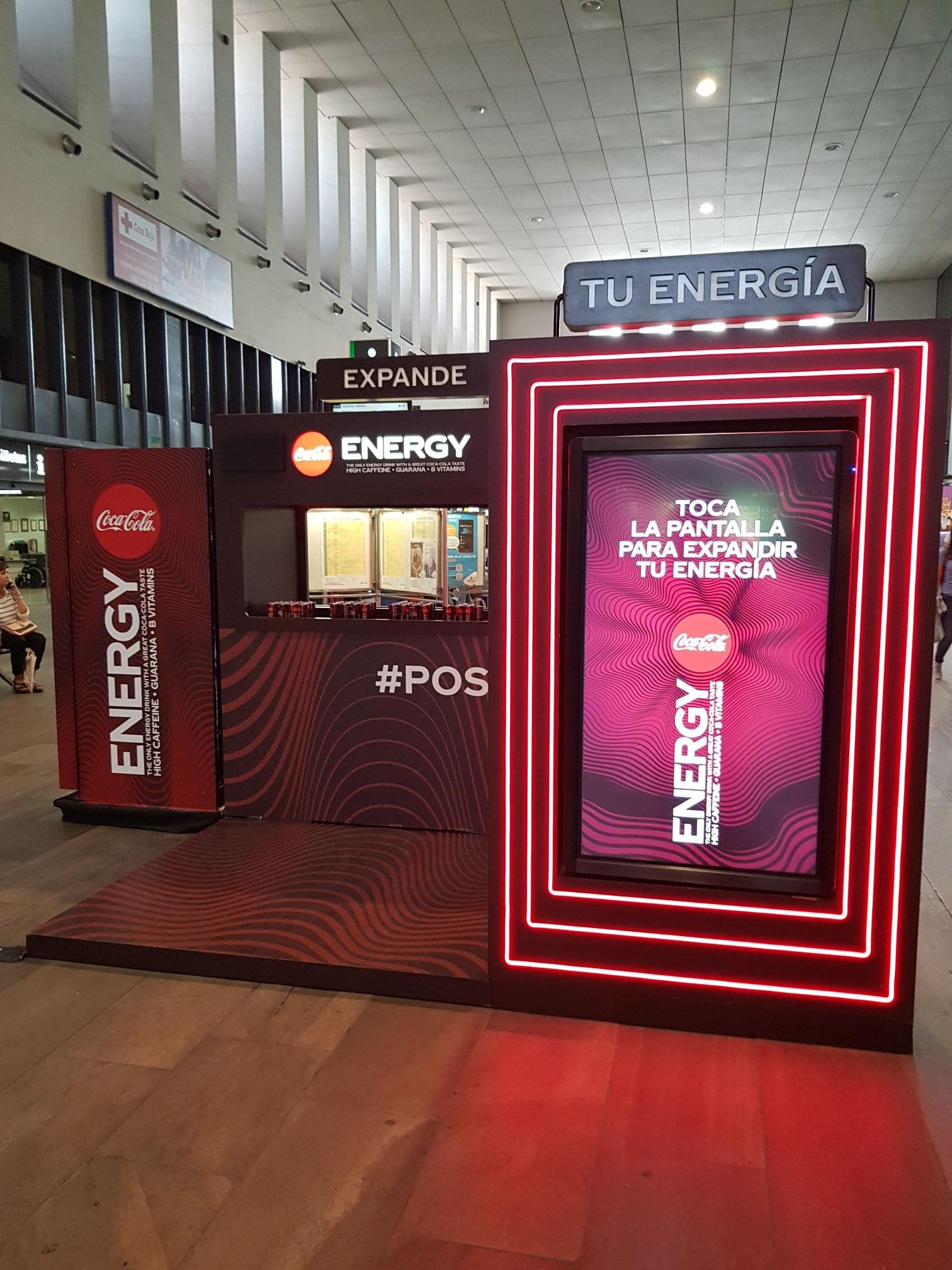 Cocacola Energy Gratis en Santa Justa