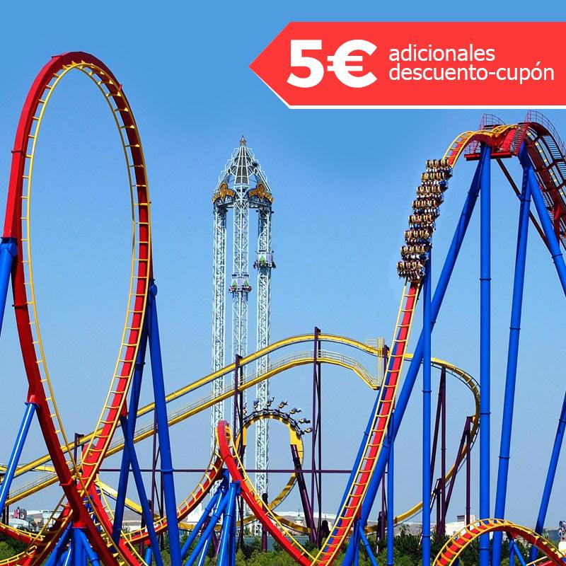 Parque Warner Madrid Entrada de 1 día (precio con cupón de 5€ descuento)