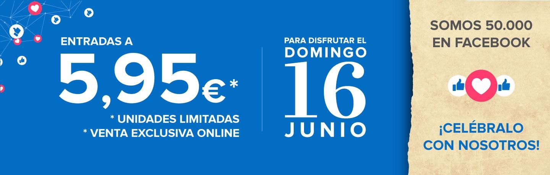 Entradas a Bioparc Fuengirola 5,95€