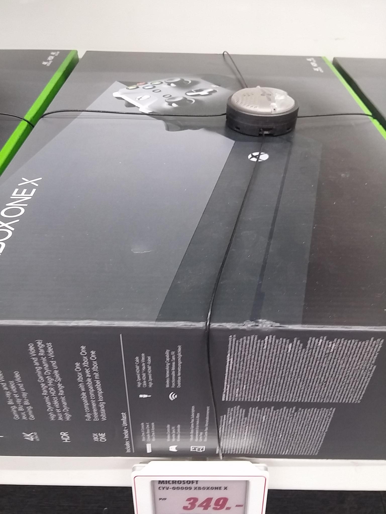 Xbox One X en Media Markt Rivas Vaciamadrid