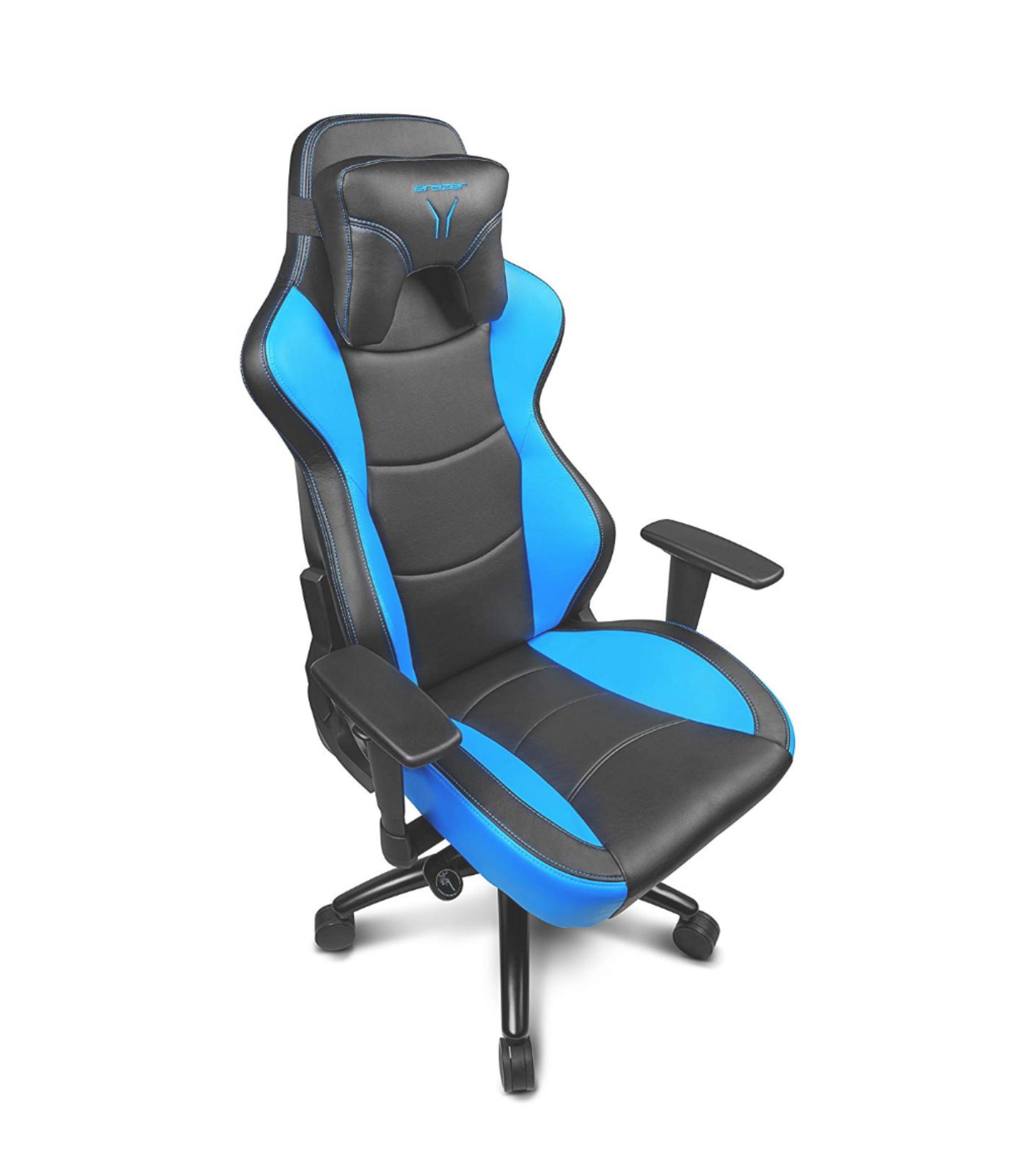 MEDION ERAZER X89017 - Silla Gaming, Color Negro