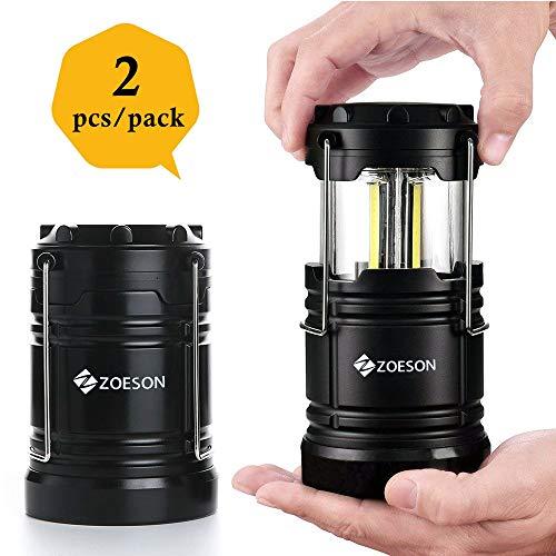 2 Lámparas de Acampada a pilas