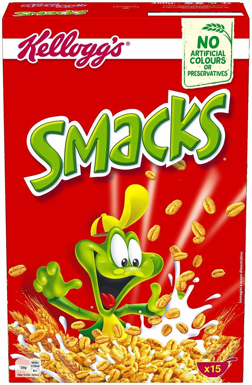 Kellogg's Cereales Smacks - 450 gr Amazon pantry