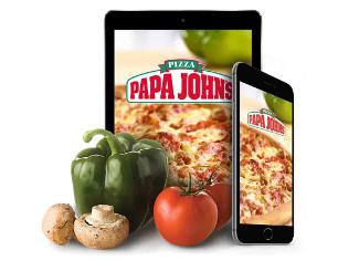 70% descuento 2a pizza en Papa Johns