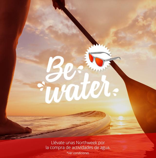 Gafas de sol Northweek GRATIS con la compra de actividades de Agua