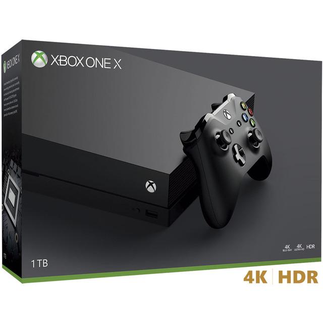 Consola Xbox One X (Fnac, tienda física)