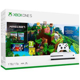 Consola Xbox One S 1TB Minecraft