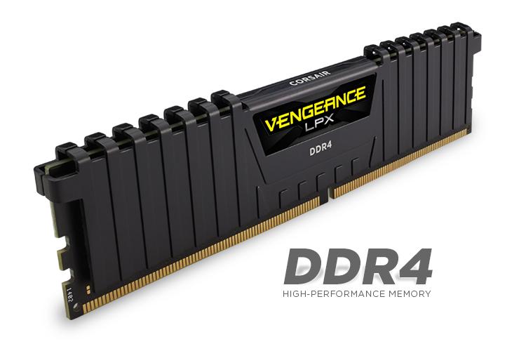 Corsair Vengeance LPX 16GB 3000MHz CL16 (1x16GB) // 32 Gb (141€)