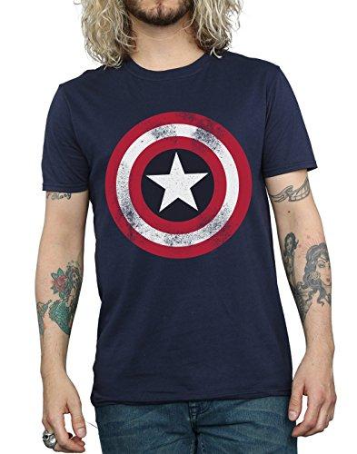 Camiseta marvel del capitán America