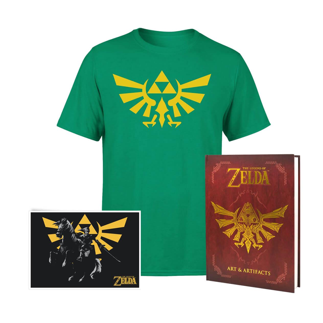The Legend Of Zelda Crest Of Hyrule Bundle