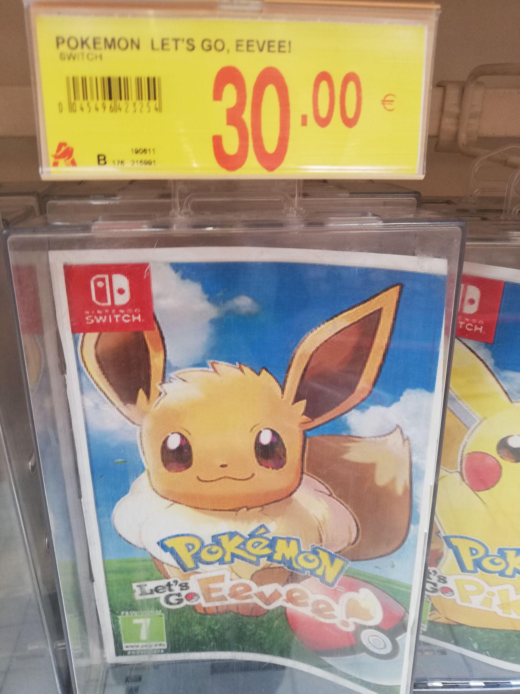 Pokemon lets go evee en alcampo parque oeste