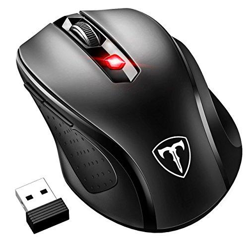 VicTsing - Ratón Inalámbrico Mini con 6 botones