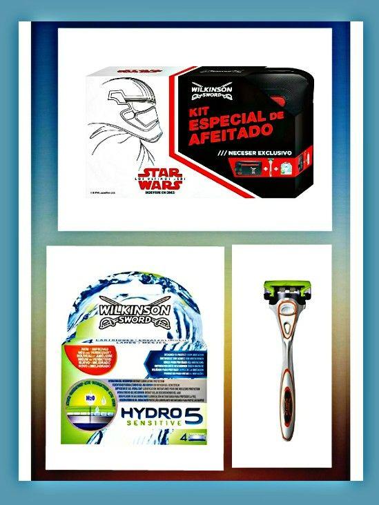 3 x1 - Wilkinson Hydro 5 Sensitive Star Wars [ más barato que las cuchillas solas]