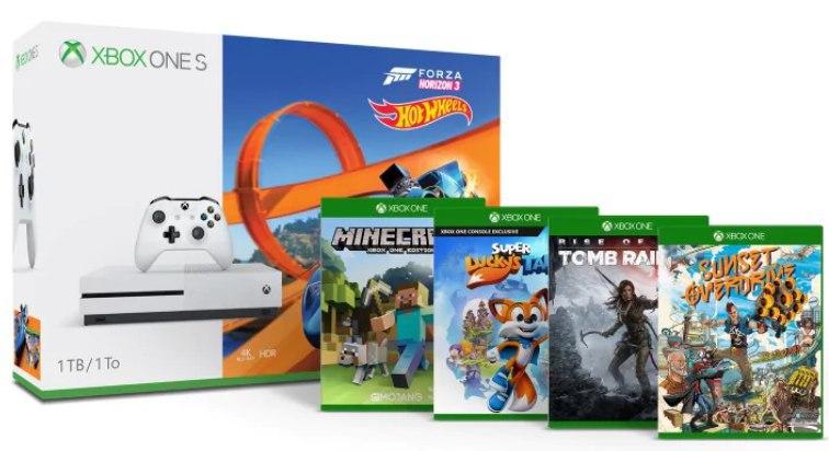 Pack Xbox One con 5 juegos solo 299€