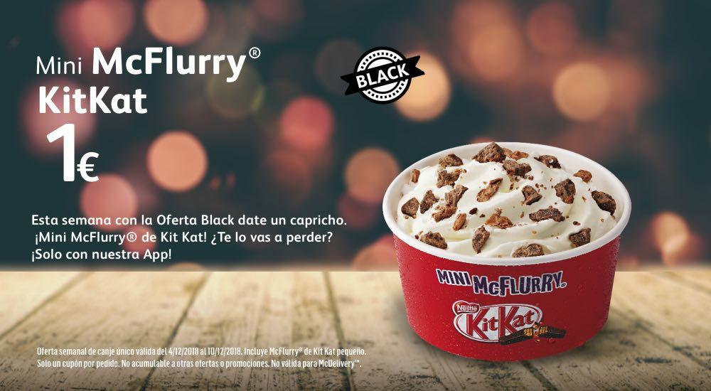 Mini Mc Flurry Kit Kat (oferta black)