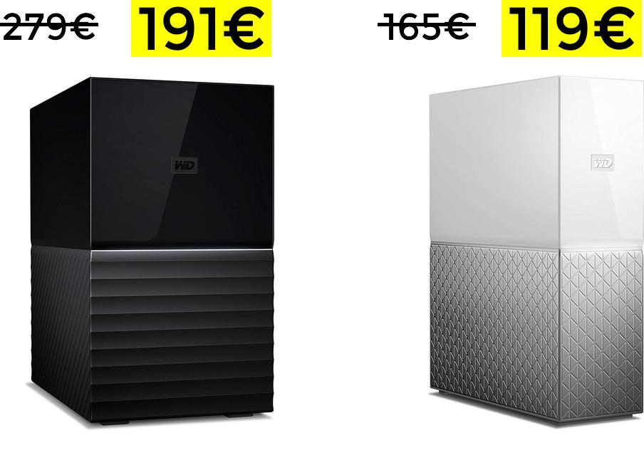 Bajadas en discos duros WD
