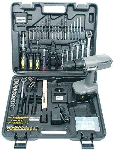 Mannesmann M17975 - Maletín de herramientas