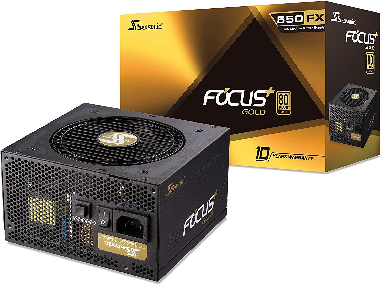 Seasonic Focus Gold 550W - SSR-550FX