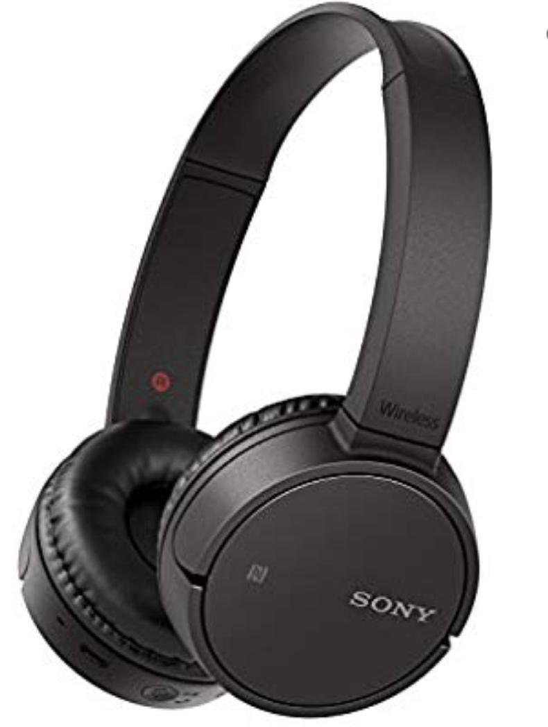 Sony WHCH500B.CE7 - Auriculares inalámbricos de Diadema