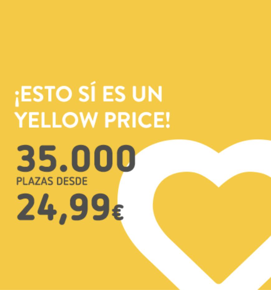 Vueling - 35.000 plazas a destinos nacionales a 24,99€