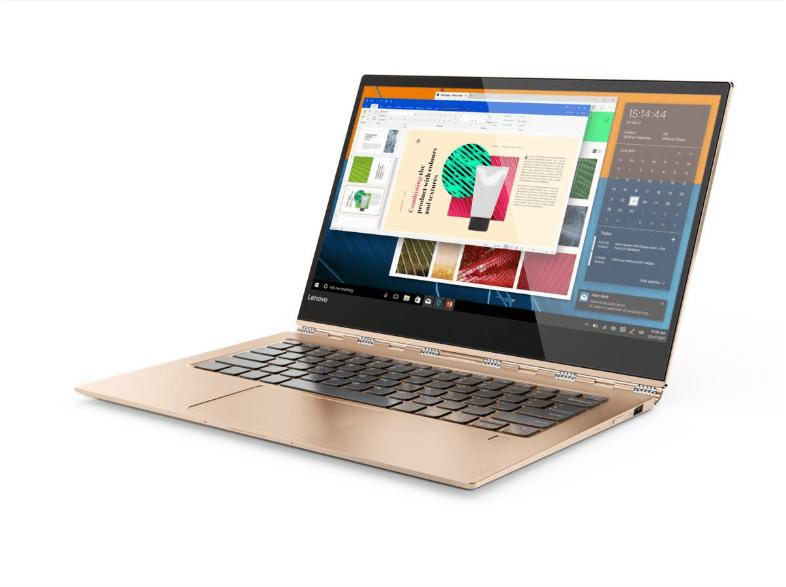 "Portátil Lenovo Yoga 920-13IKB, i7-8550U, 13.9"" Full HD, 8GB RAM, 512GB SSD"