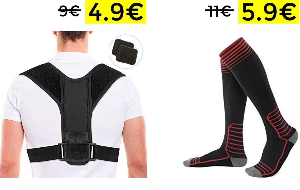 Correctores y calcetines de compresión