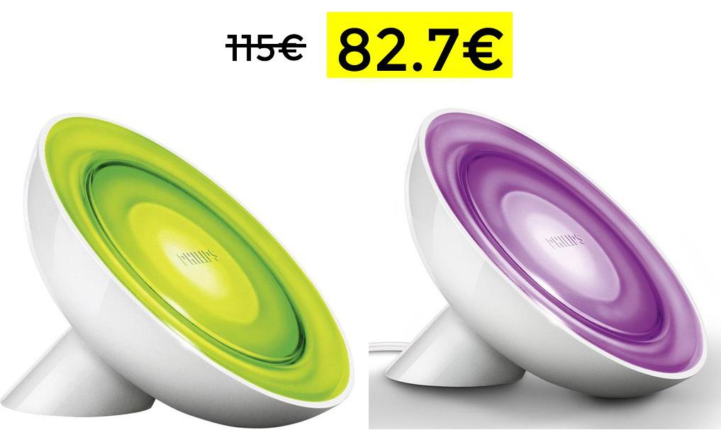 2x Lámparas Hue Bloom solo 82.7€