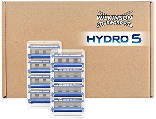 Wilkinson Sword BOX Hydro 5 - Caja de 8 Cargadores de Cuchillas de Afeitar